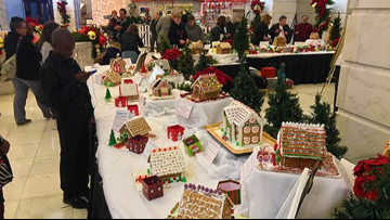 Creative minds decorate gingerbread houses for a good cause at 31st annual Gingerbread Extravaganza