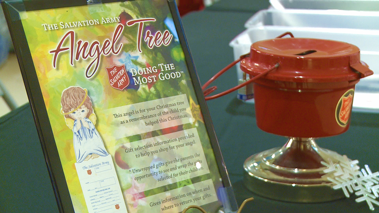 Salvation Army extends adopt an angel, gift drop-offs for Angel Tree program