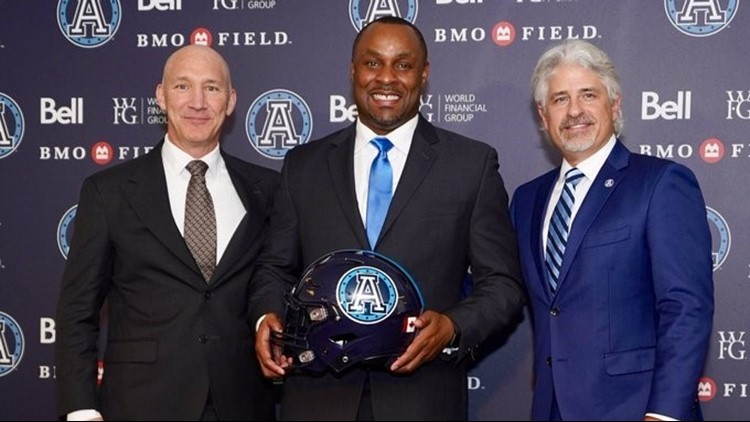 Toronto Argonauts hire Arkansas' Corey Chamblin