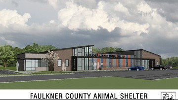 Faulkner Co. animal shelter closer to fruition, vote on tax increase next Tuesday