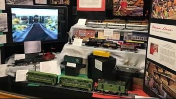Exhibit at Arkansas State Capitol explores popularity of toy trains during holidays