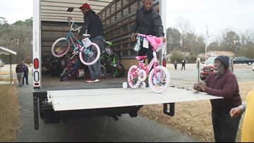 Arkansas Stop the Violence donates bikes to children in need during holidays