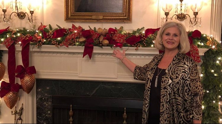Camden woman returns home after helping decorate the White House for Christmas