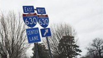 ArDOT closing all lanes of I-630 intermittently this weekend