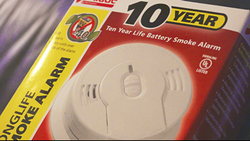 Pine Bluff fire crews introduce new 10-year smoke detectors, installingfor free in homes