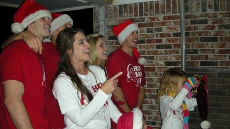 Get to know Ashley King's family as they decorate for Christmas