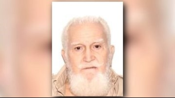 Silver Alert activated for missing 80-year-old man from Jacksonville