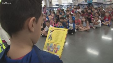 Reading Road Trip with a Disney twist at Parkway Elementary