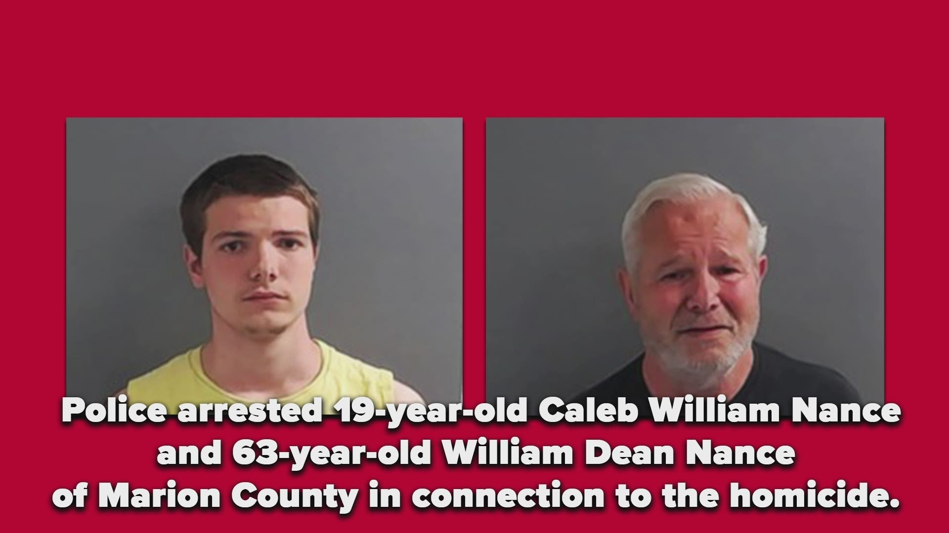 Father Son Arrested In Connection To Marion Co Homicide
