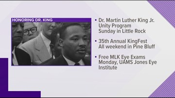 Events on Martin Luther King Jr. Day