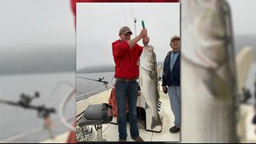 Holy smokes! Man catches 42-pound striped bass at Lake Ouachita