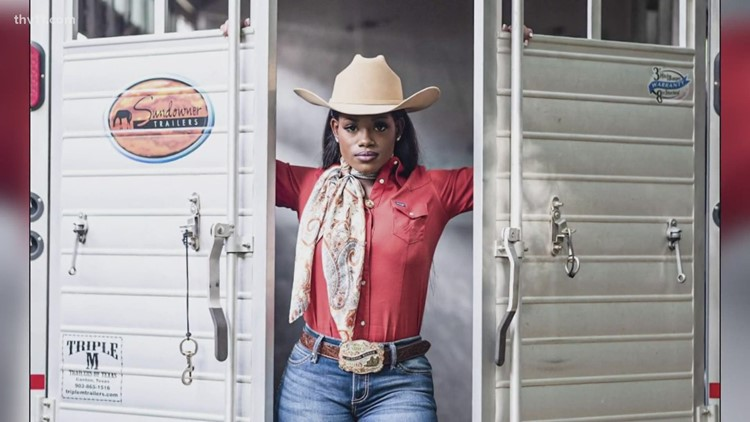 Meet the first Black rodeo queen in Arkansas