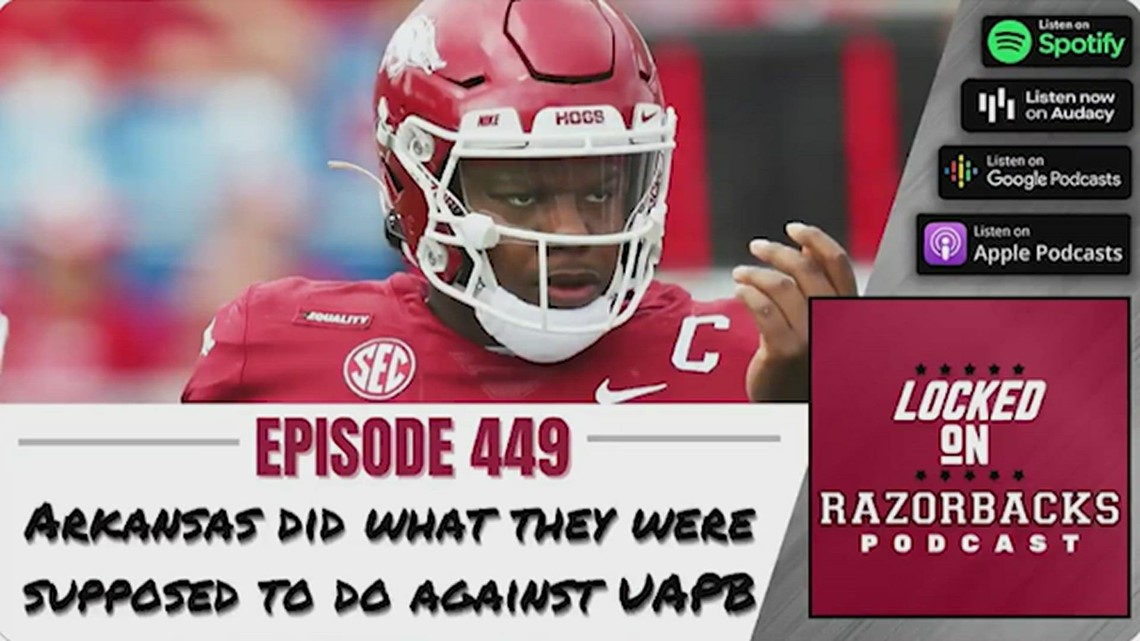Arkansas did what they were supposed to do against UAPB