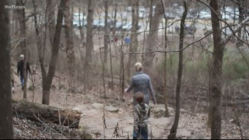 Arkansans start resolutions early by hiking New Year's Day