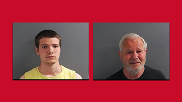 Father, son arrested in connection to Marion County homicide