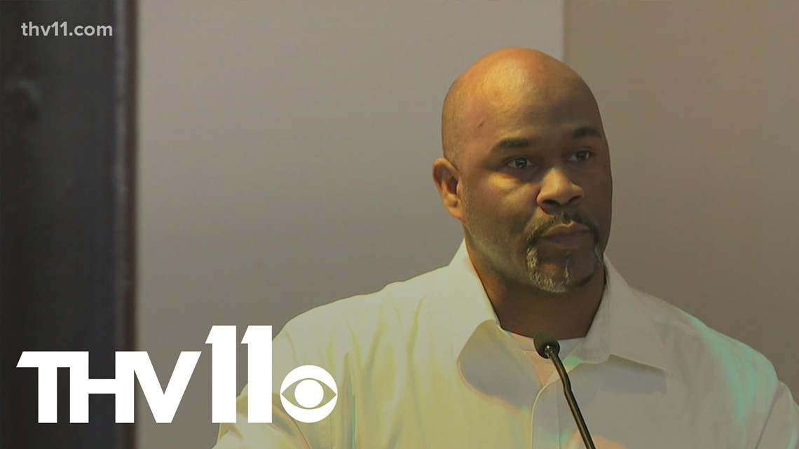 Teacher researching violent crime prevention in Little Rock
