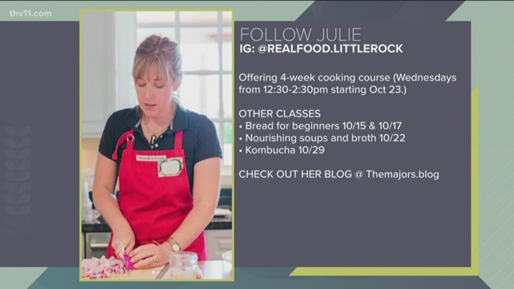 Real food for your family with Julie Majors