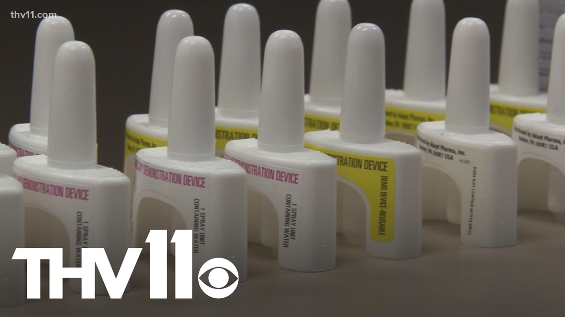 Arkansas toddler saved by Narcan after swallowing pill left out