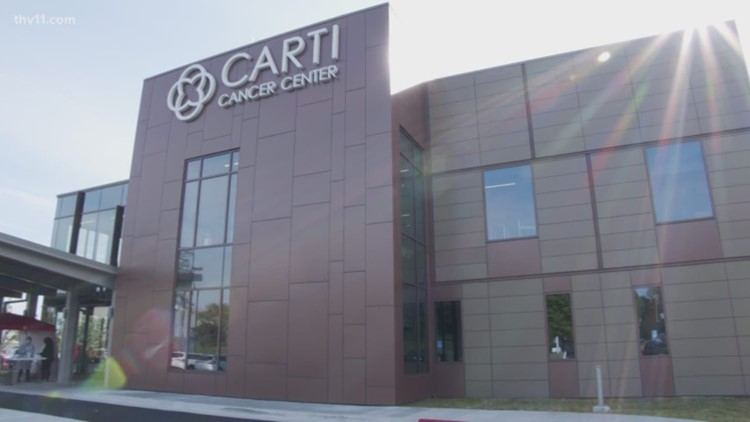 North Little Rock CARTI Cancer Center opens two weeks early amidst coronavirus pandemic