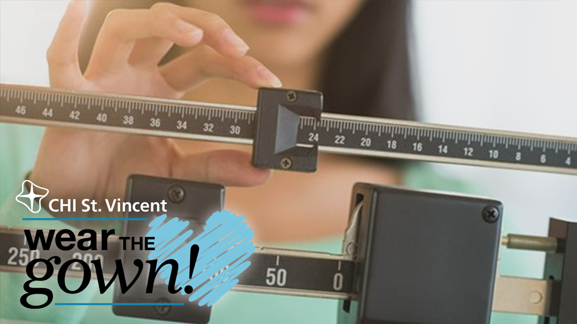 Making a commitment to losing weight | Wear the Gown