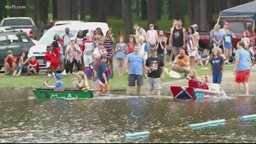 6th Annual Cardboard Boat Races in Maumelle