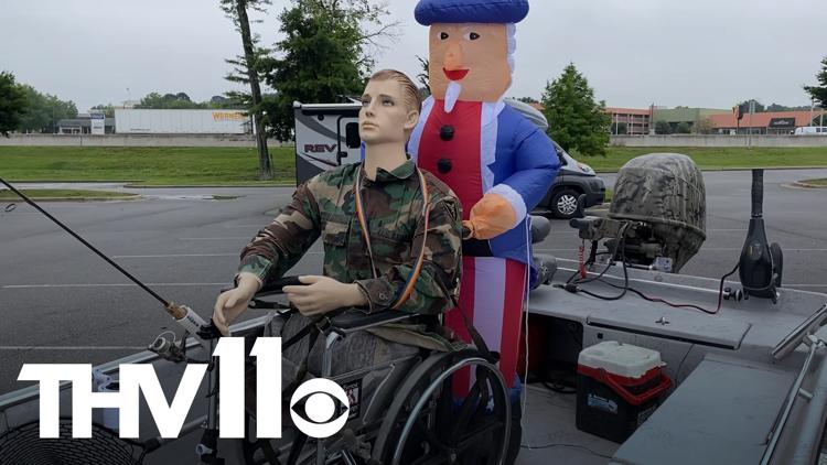 Arkansas man creates fully wheelchair accessible fishing boat