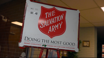 Late Thanksgiving sets Salvation Army behind on thousands of bell ringing donations