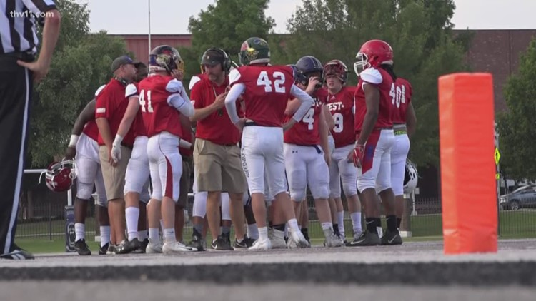 The East outlasts the West in AAA football All-Star game