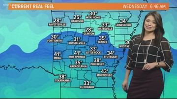 Morning weather forecast for Jan. 9