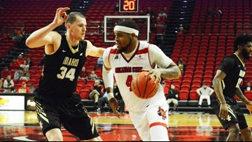 Five double-digit scorers spark A-State's comeback win over Idaho