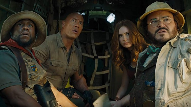 The Jumanji sequel is fun but not needed, just like a video game sequel