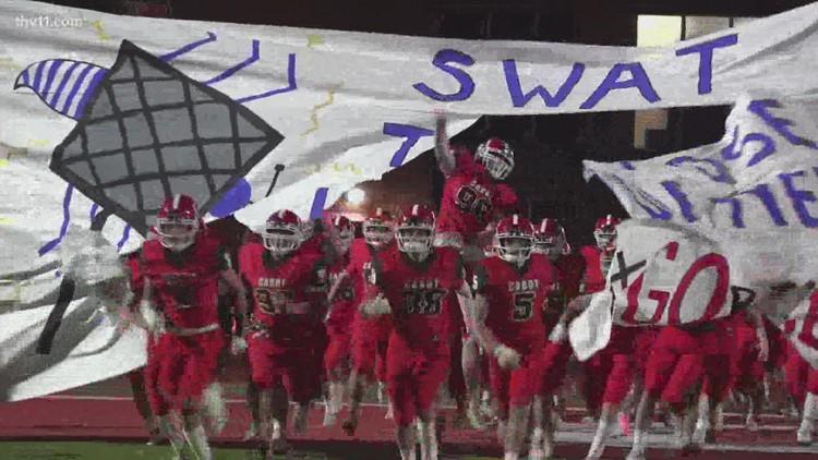 Final scores for Week Eight of Arkansas high school football