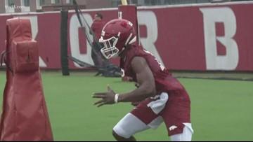 Freshman receivers impressed in Saturday's scrimmage