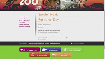 Special events coming up at Little Rock Zoo!