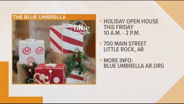 Holiday shopping at The Blue Umbrella
