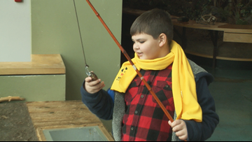 10-year-old Arkansas boy hopes to reel in a forever family soon
