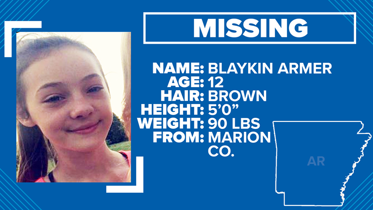 Arkansas State Police asks for help in finding endangered 12-year-old girl