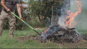11 Listens: Can you burn your trash in central Arkansas?