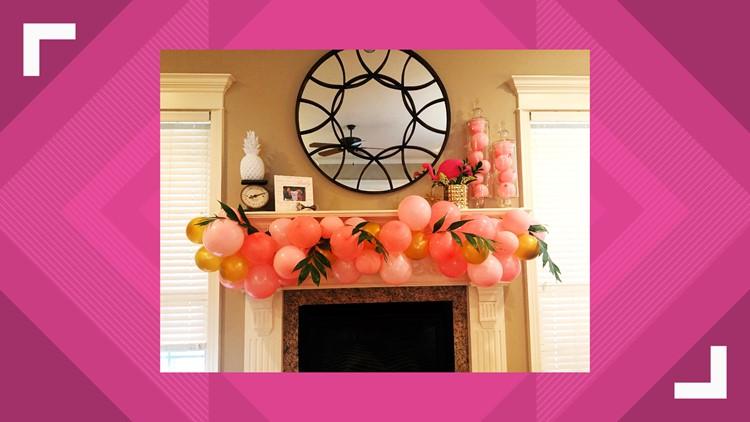 K to Z Design Balloon Garland