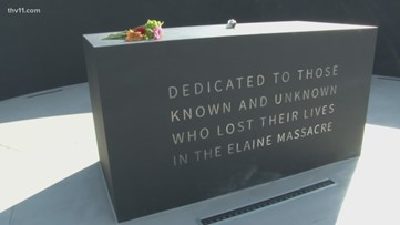 Elaine 12 member honored with new memorial marker at grave site
