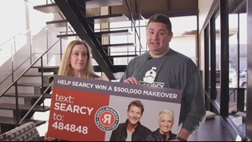Help Searcy get makeover on TV