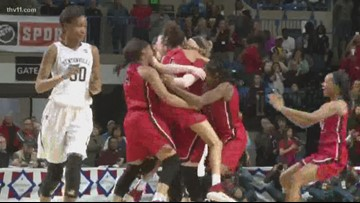 Wolfenbarger's buzzer beater lifts Northside to 6A crown