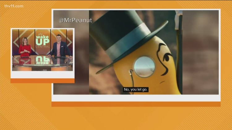 THV11 anchors react to the death of Mr. Peanut