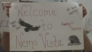 Reading Roadtrip's peak season begins at Nemo Vista Elemenary