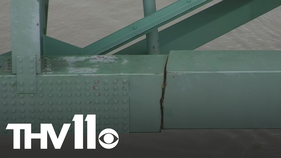 I-40 bridge closed after officials discover a crack during routine inspection