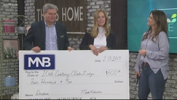 Donation for local group helping cancer patients