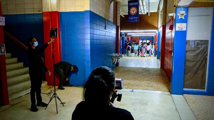 Parkview Magnet's theatre students film movie musical in place of traditional stage performance