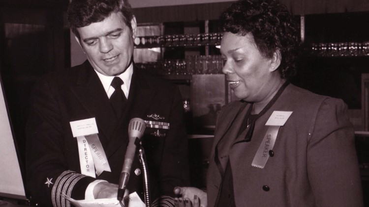 Her legacy continues: Arkansas's 'Hidden Figure' Dr. Raye Montague's son reaches for next generation