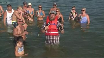THV11's Adam Bledsoe LIVE at Lake Hamilton