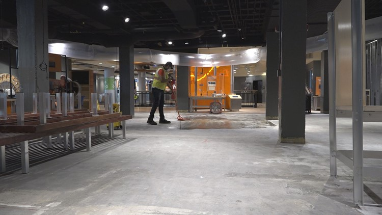 Museum of Discovery cleaning up extensive winter storm damage